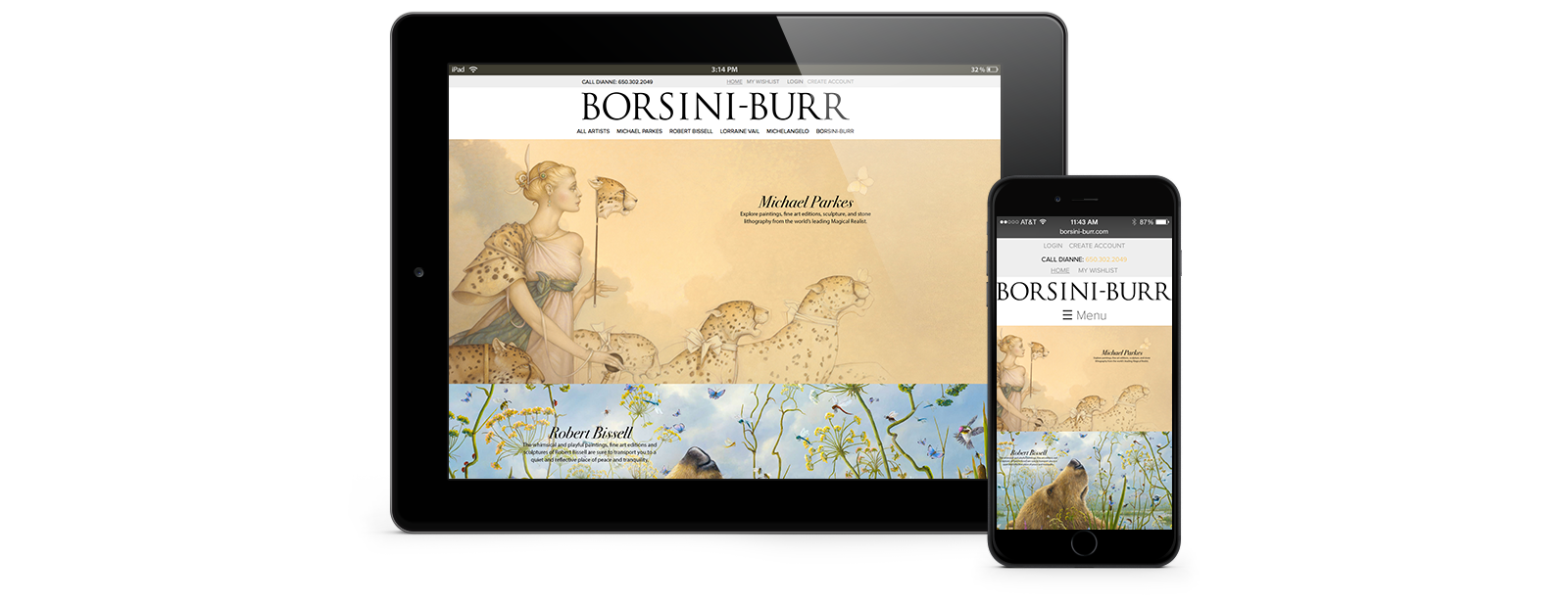 Responsive Web Site Redesign