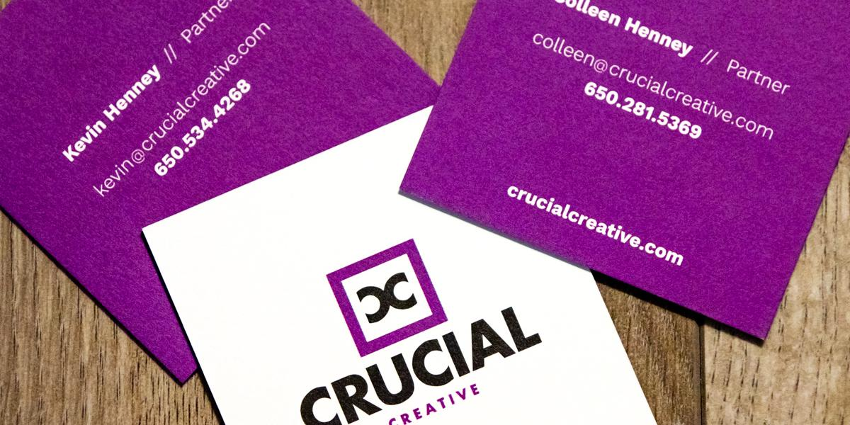 Crucial Creative Business Cards